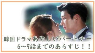 韓国ドラマ-あやしいパートナー6~9話